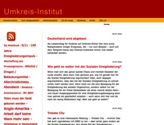 umkreis-institut.de screenshot