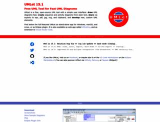 umlet.com screenshot