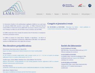umr-math.univ-mlv.fr screenshot