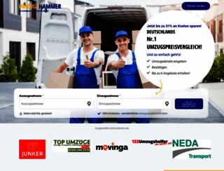 umzugshammer.com screenshot
