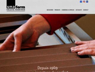 unaferm.com screenshot
