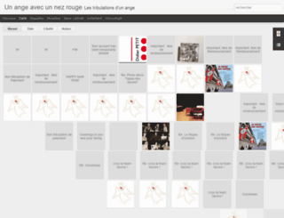 unangeavecunnezrouge.blogspot.com screenshot