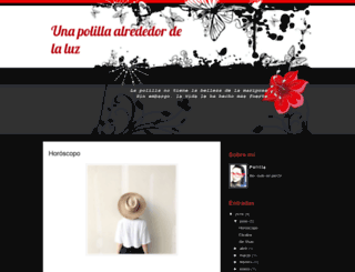 unapolillaalrededordelaluz.blogspot.com screenshot