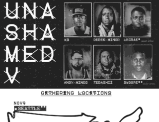 unashamedtour.com screenshot
