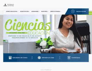 unav.edu.mx screenshot