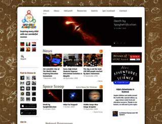 unawe.org screenshot