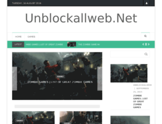 unblockallweb.net screenshot