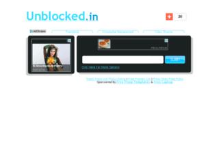unblocked.in screenshot
