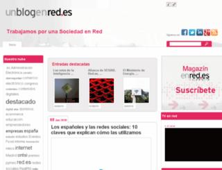 unblogenred.es screenshot