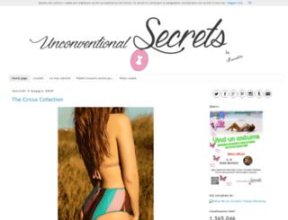 unconventionalsecrets.blogspot.it screenshot