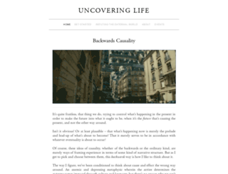 uncoveringlife.com screenshot