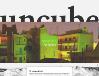 uncubemagazine.com screenshot