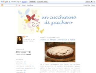 uncucchiainodizucchero.blogspot.com screenshot