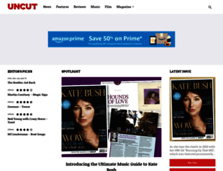 uncut.co.uk screenshot
