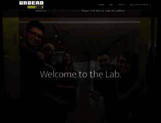 undeadlabs.com screenshot
