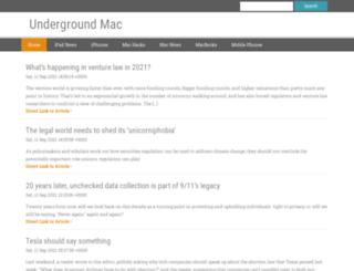 undergroundmac.com screenshot