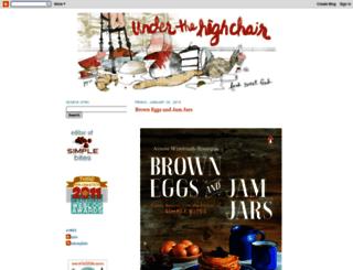 underthehighchair.com screenshot