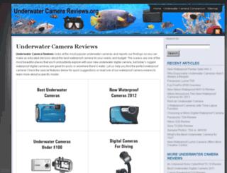 underwatercamerareviews.org screenshot