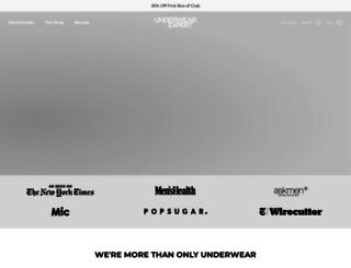 underwearexpert.com screenshot