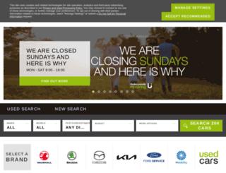 underwoodsmotorgroup.com screenshot