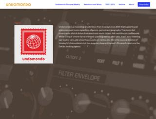 undomondo.com screenshot