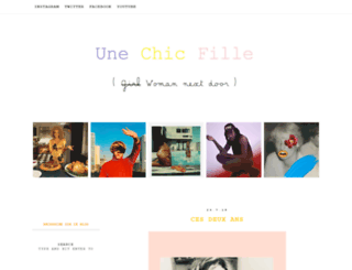 unechicfille.blogspot.com screenshot