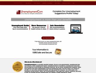 unemploymentcom.com screenshot