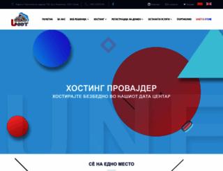 unet.com.mk screenshot