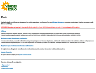 unete.partidoequo.es screenshot