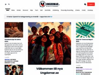 ungdomar.se screenshot