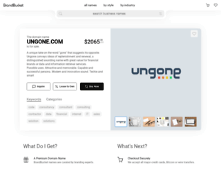 ungone.com screenshot