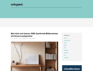 unhyped.de screenshot