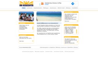 uni-reisecenter.de screenshot
