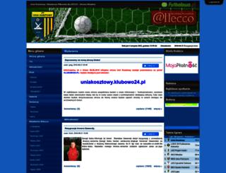 uniakosztowy.futbolowo.pl screenshot