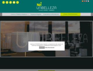 unibelleza.com screenshot