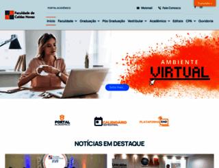 unicaldas.edu.br screenshot