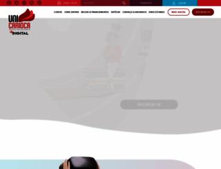 unicarioca.edu.br screenshot