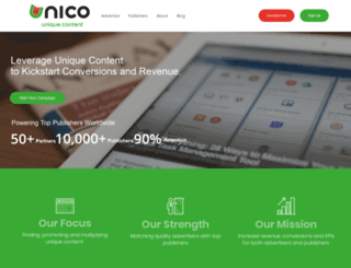 unico.com screenshot