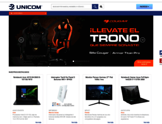 unicom.com.uy screenshot