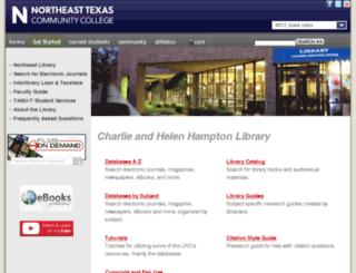 unicorn.ntcc.edu screenshot