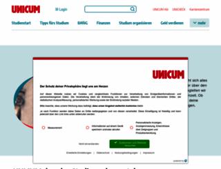 unicum.de screenshot