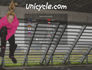 unicycle.co.nz screenshot