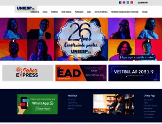 uniesp.edu.br screenshot