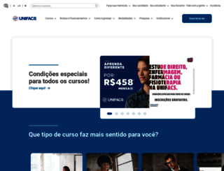 unifacs.br screenshot