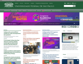 unifesp.br screenshot