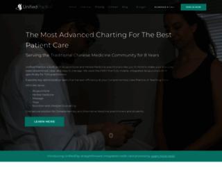unifiedpractice.com screenshot