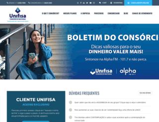 unifisa.com.br screenshot