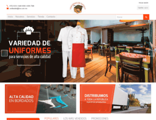 uniformesdebatalla.com.mx screenshot