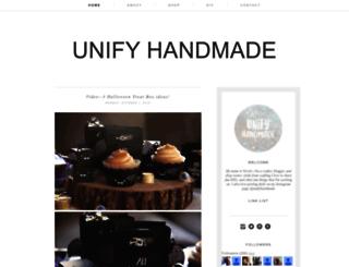 unifyhandmade.blogspot.com screenshot
