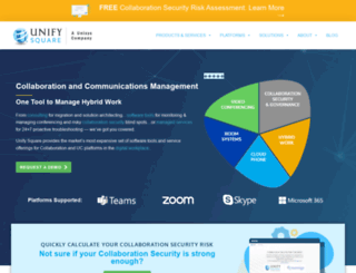 unifysquare.com screenshot